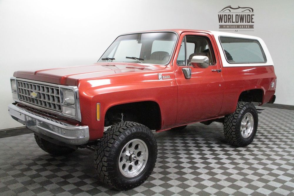 Chevrolet Blazer K5 Restored Vintage 4x4 24k Invested Chevrolet