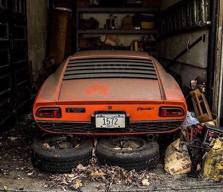 My Favorite Barn Find. Lamborghini Miura *Finding By Wayne
