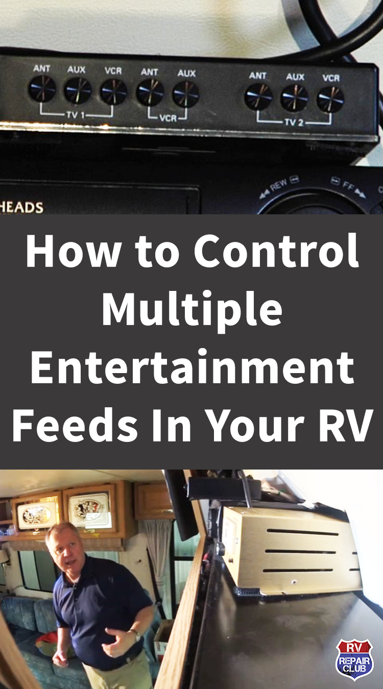 Rv Entertainment Center Overview Rv Repair Club Rv Rv Repair Tv Entertainment Centers