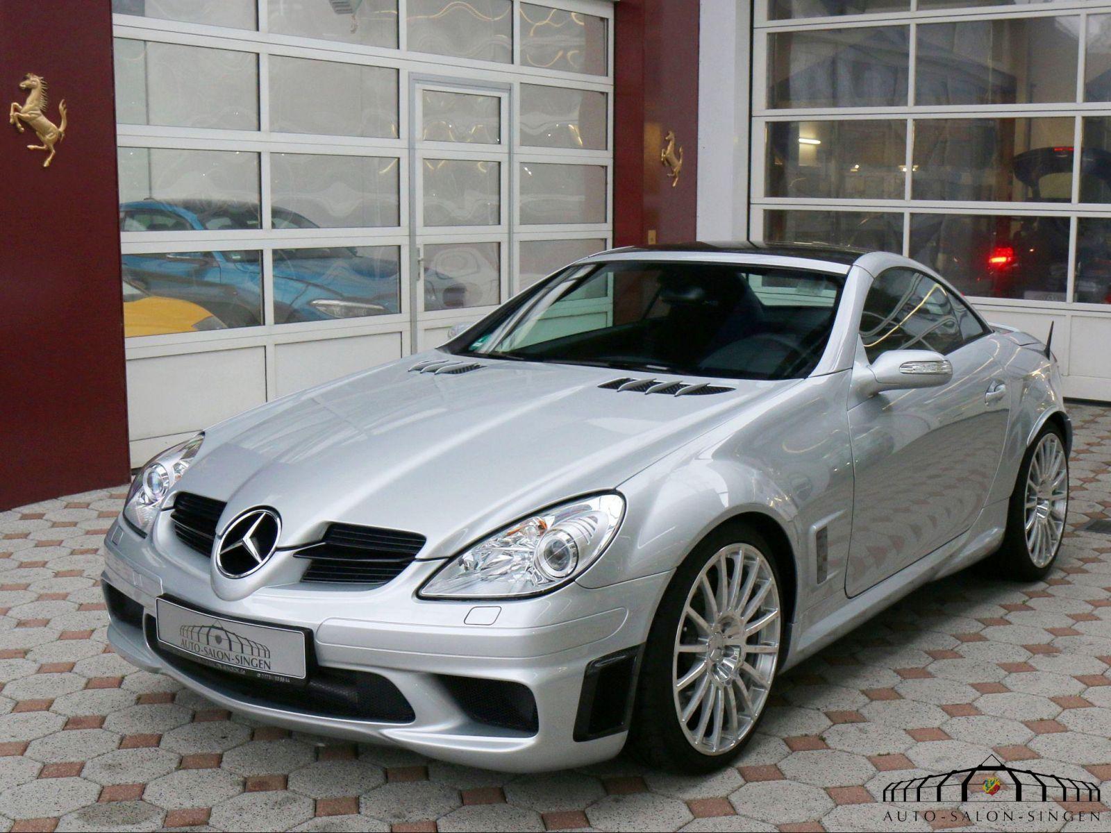 Mercedes Benz Slk 55 Amg Black Series Coupe Auto Salon Singen