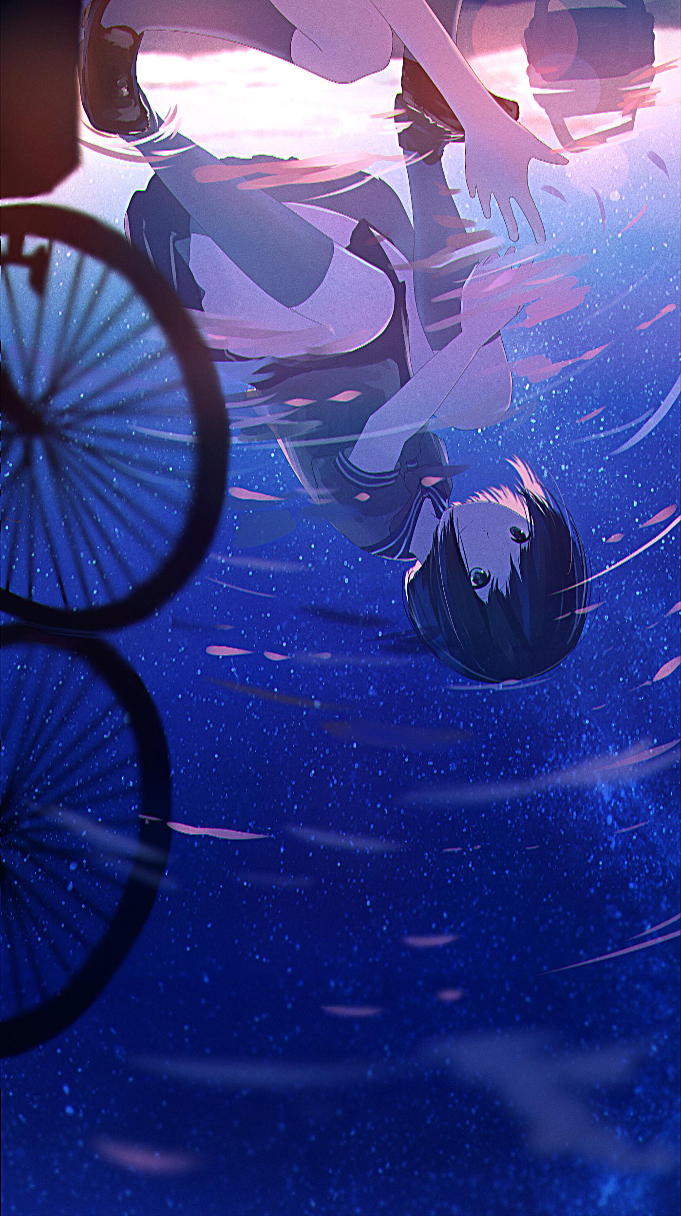 Pixiv みふる アニメの風景 幻想的なイラスト イラスト