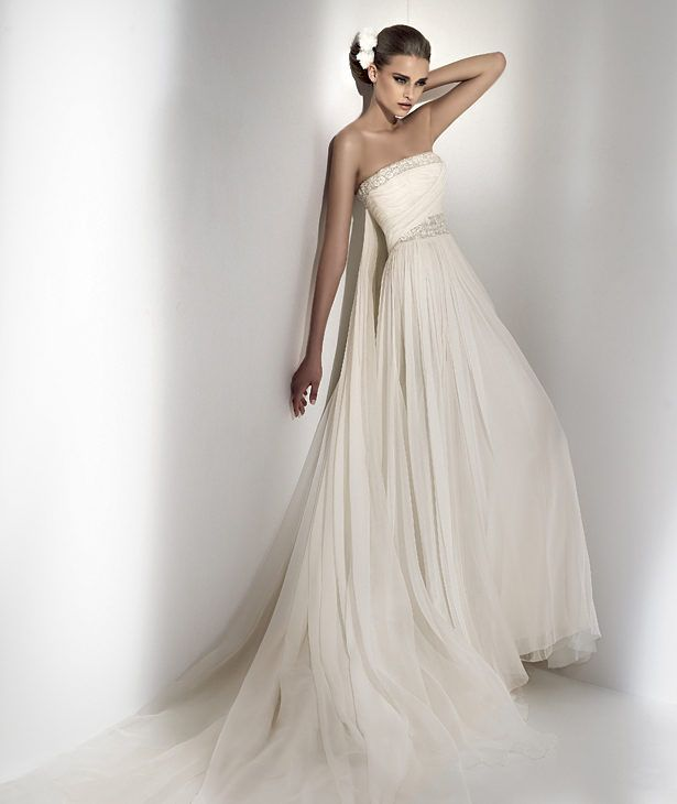 Beach Chic Wedding Style Gown