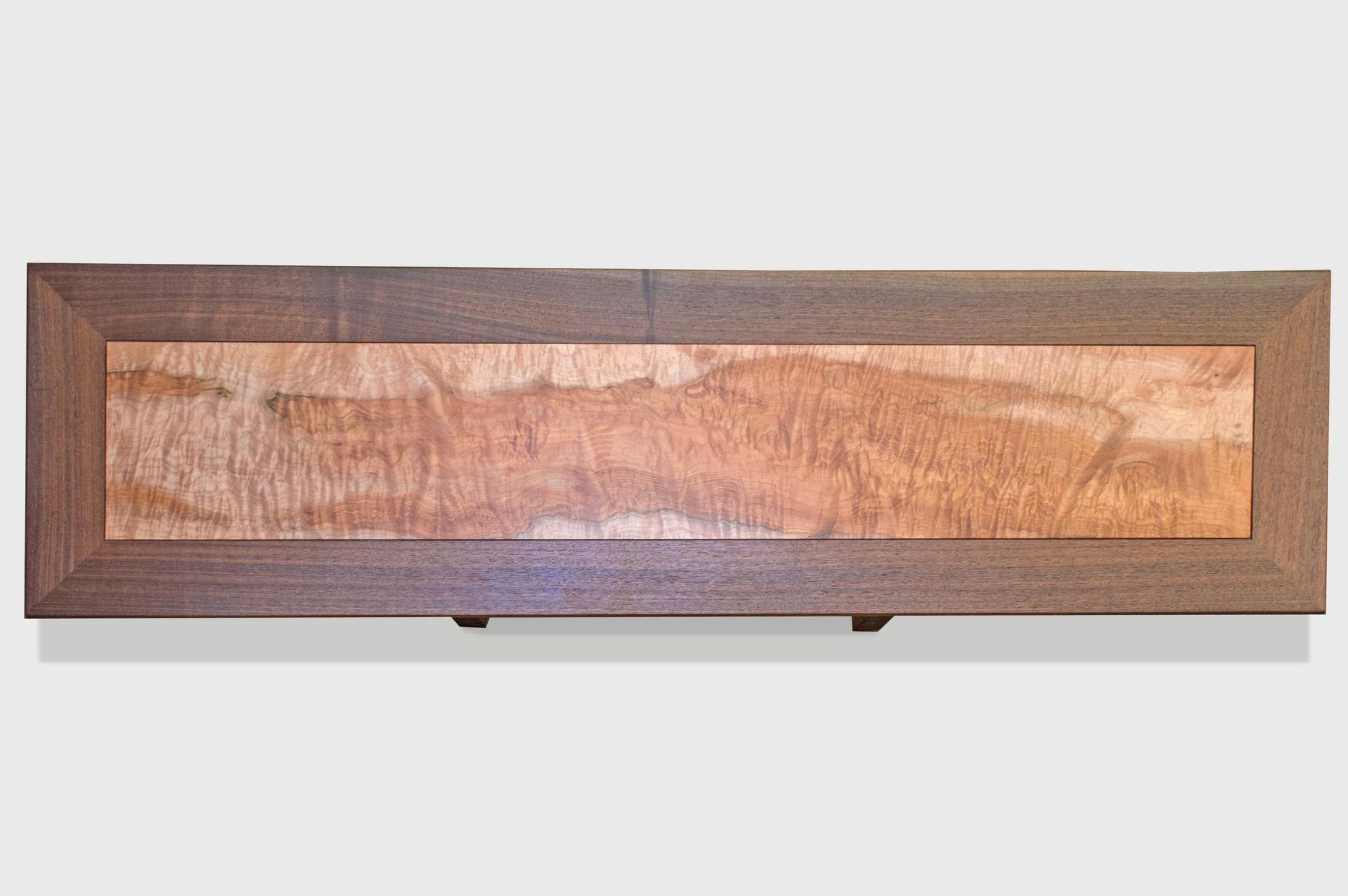 Walnut and maple console table console tables consoles and products walnut and maple console table geotapseo Image collections