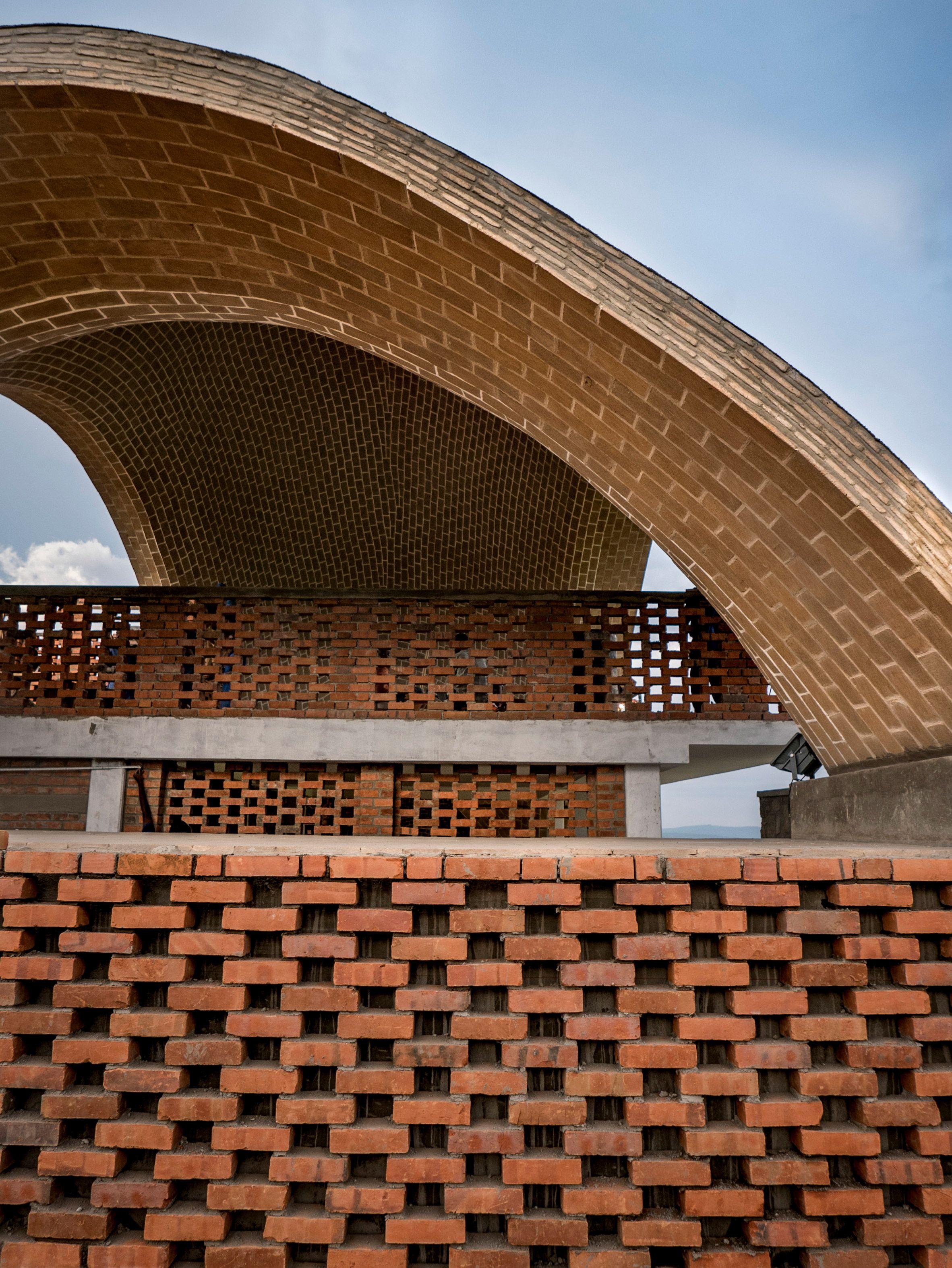 Rwanda Cricket Stadium By Light Earth Designs Earth Design Eco Architecture Stadium Lighting