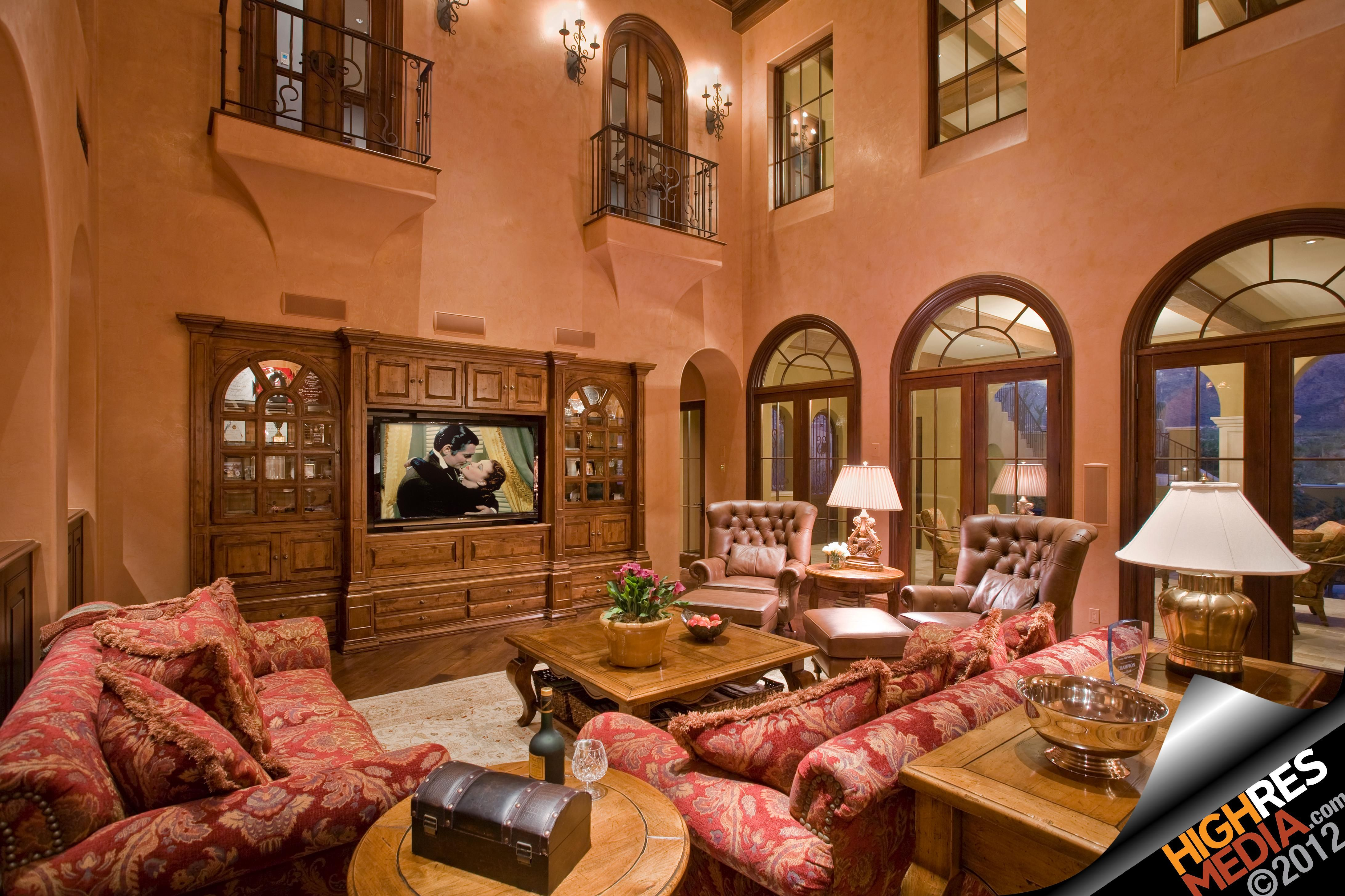 Luxury living room scottsdale az home decor pinterest