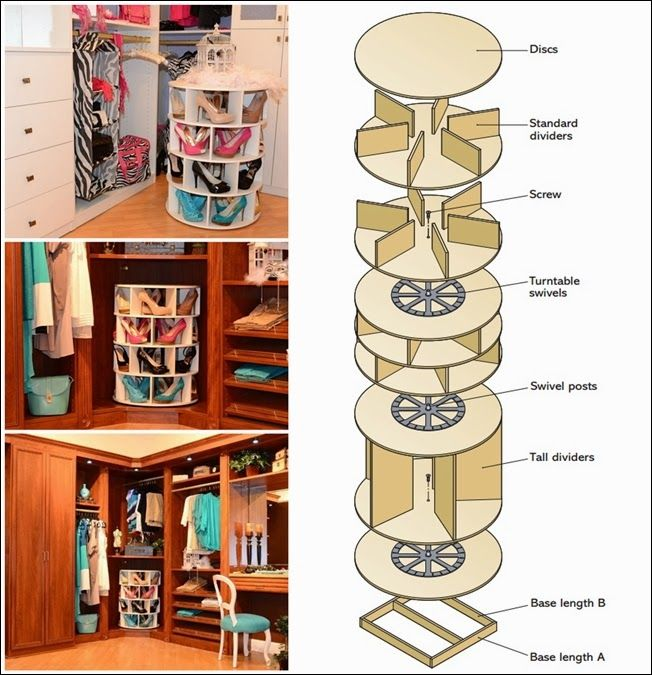 Diy Projects Diy How To Make Lazy Susan Shoe Rack Diy Lazy Susan Lazy Susan Shoe Rack Diy Shoe Rack