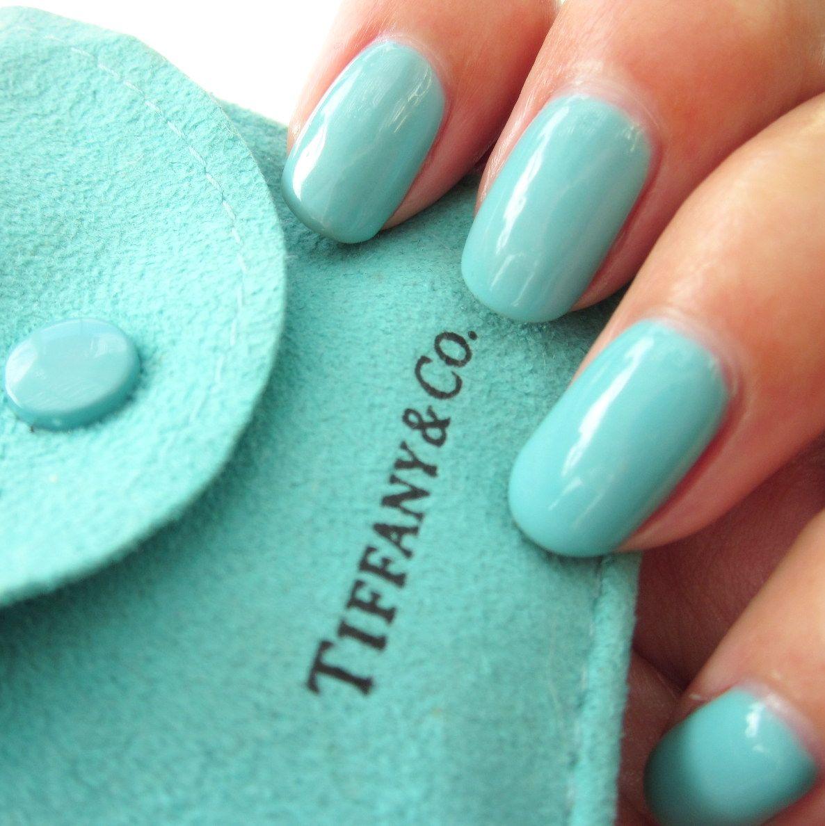 """Tiffany Blue Gel Nail Polish: EZFlow TruGel In """"Tiffany"""" -- LED Gel Nail Polish"""