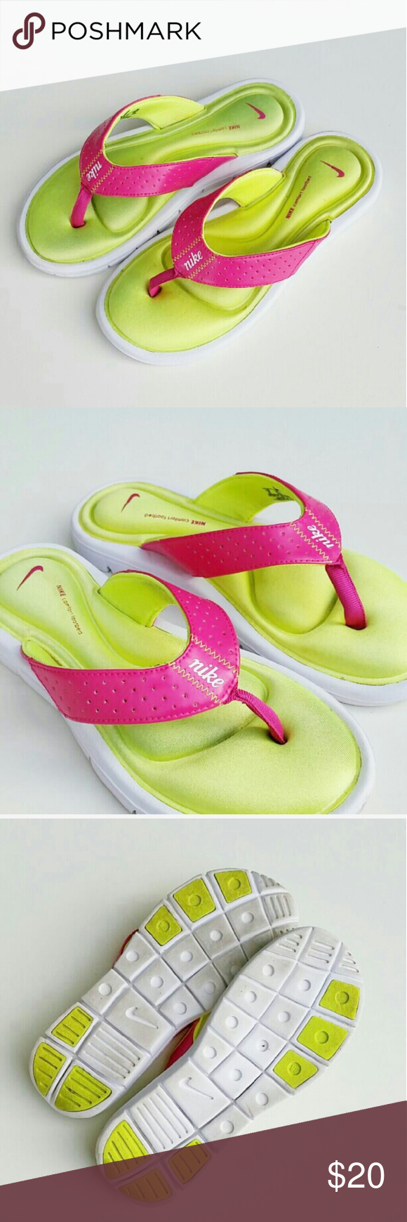 285244682808 Women s Nike Gel cushion sandals Women s Nike Gel cushion sandals   flip  flops. Been worn only a few times.. very little dirty on the bottom other  then that ...
