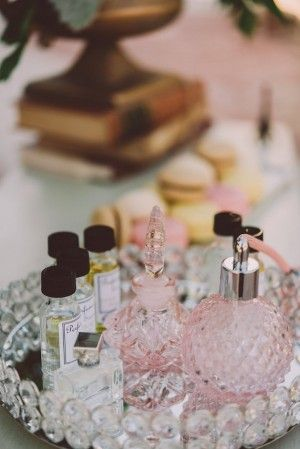 b237138b2fe Perfume Bar Idea for Bridal Shower - Cristina Navarro Photography