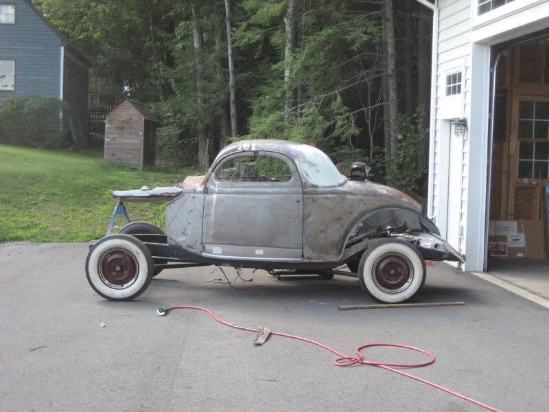 Chopped 1936 ford 3 window project the ford barn ford for 1936 ford 3 window for sale