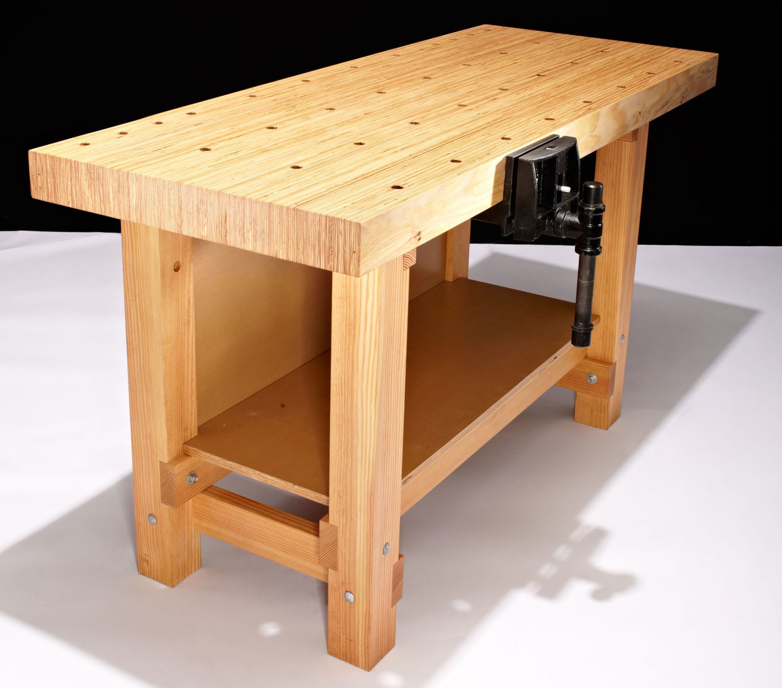 Woodworking Bench Ideas Part - 42: You Can Build This Gorgeous, Do-it-All Workbench