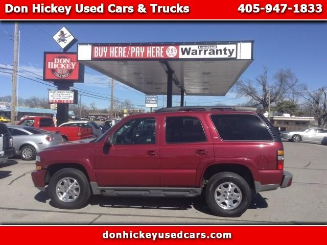 Used 2005 Chevrolet Tahoe 4wd For Sale In Oklahoma City Ok 73127 Don Hickey Used Cars Used Suv Used Cars Cars Trucks