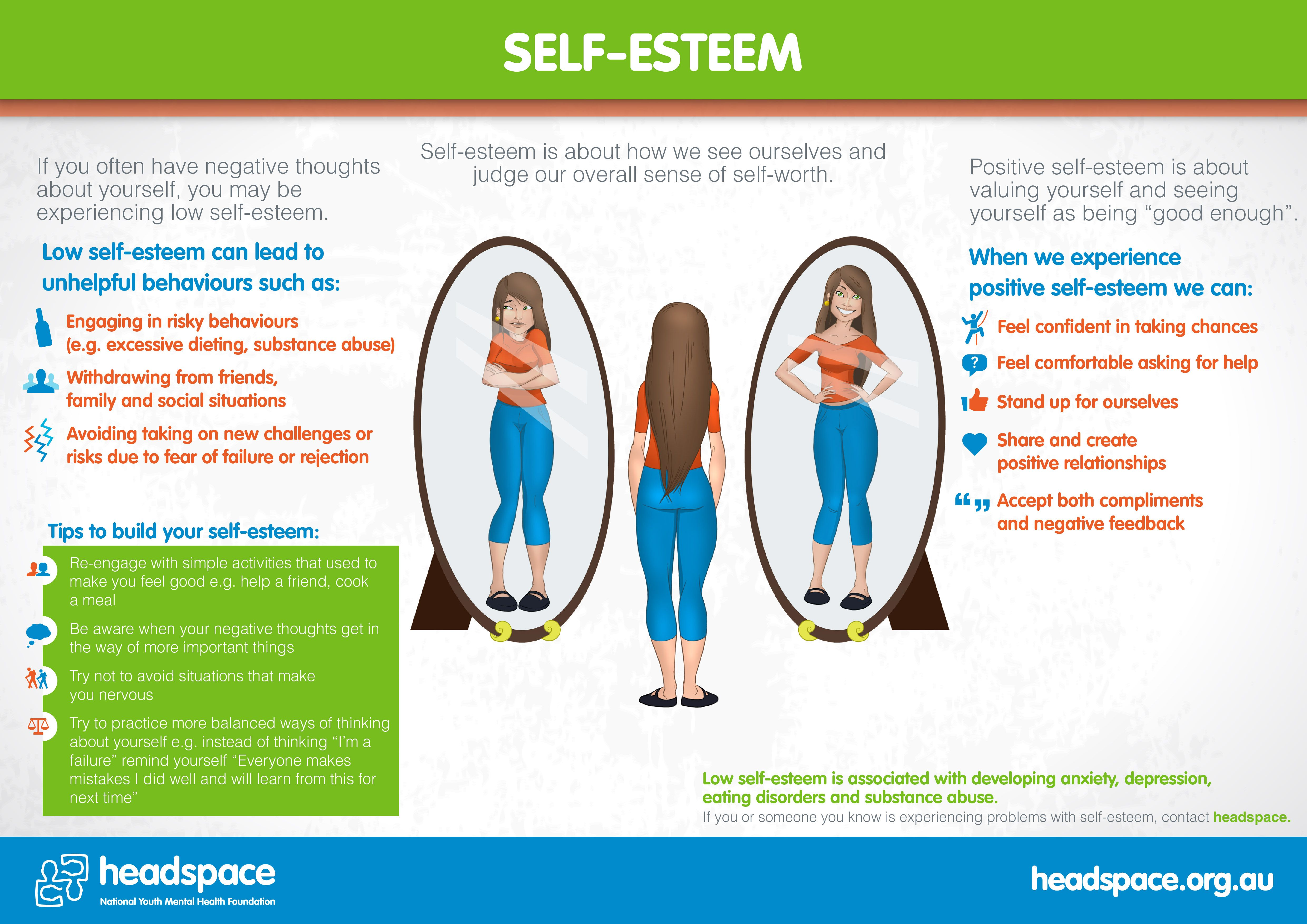 Self Esteem Is About Seeing Your Good Qualities Being