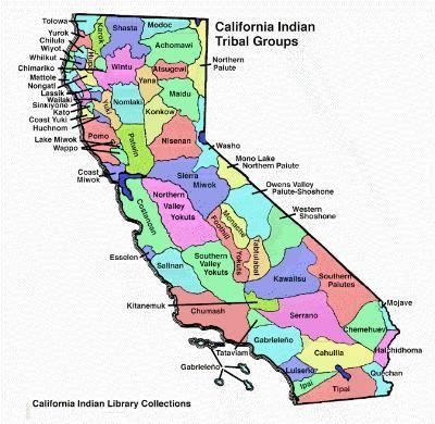 Mojave Desert In California Map.Mojave Desert In California Map Of California Indian Tribal Groups