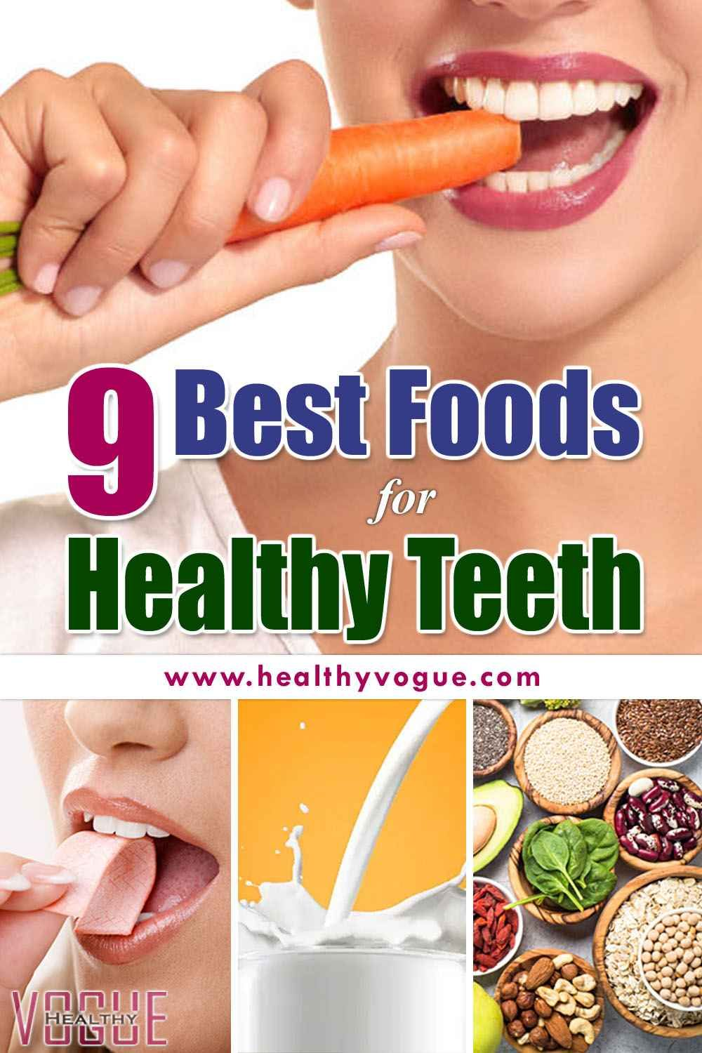 9 Foods That Can Whiten Your Teeth Naturally Healthy Teeth Teeth Health Healthy