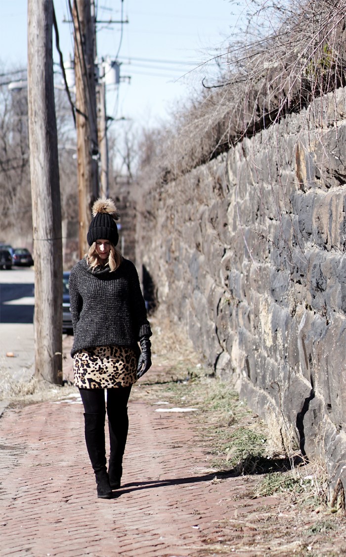 a0ad0dad85 3 WAYS TO WEAR A LEOPARD PRINT SKIRT