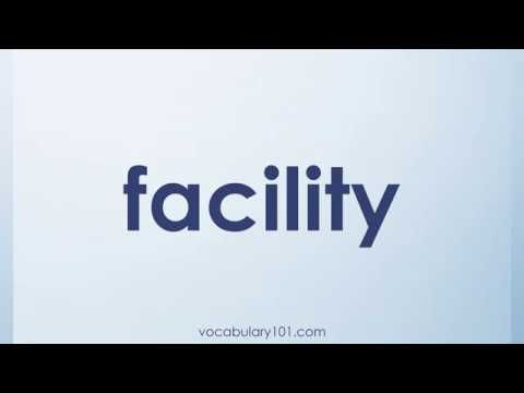 Facility Meaning And Example Sentence | Learn English Vocabulary Word With  Definition