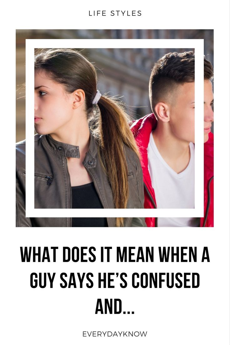 what does a guy mean by dating