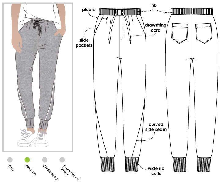 Essentials Knit Sleep Pant Femme