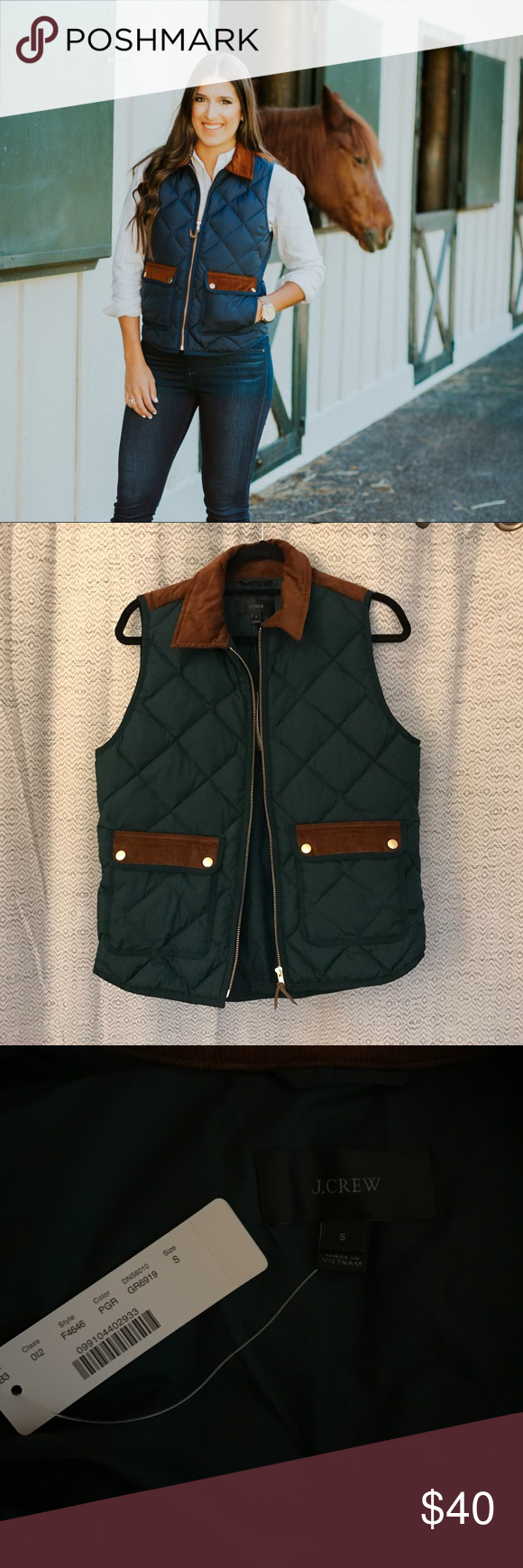 quilt island vest thermal full green womens ladies lightweight quilted golf zip gilet index