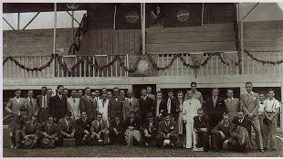 Arquibancada do Estádio do SC Iguassú - 1931