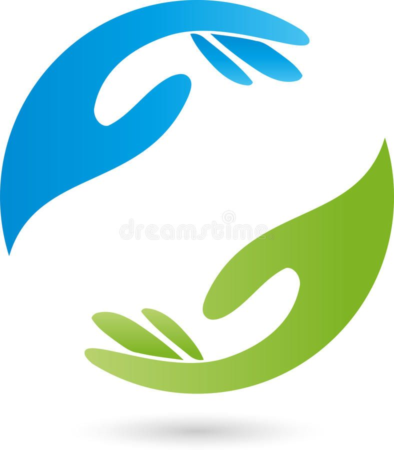 download two hands in green and blue massage and wellness logo rh pinterest ca wellness logos for sale wellness logos design