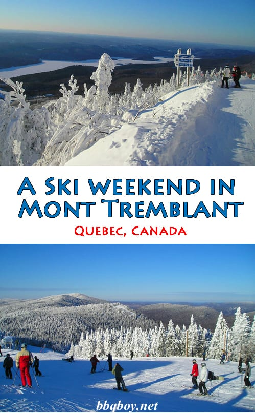 The best ski destination in the Montreal region. But there's more to Mont-Tremblant than that #bbqboy #MontTremblant #Quebec #Canada #travel