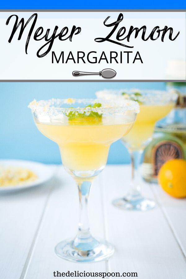 Meyer Lemon Margarita Recipe!