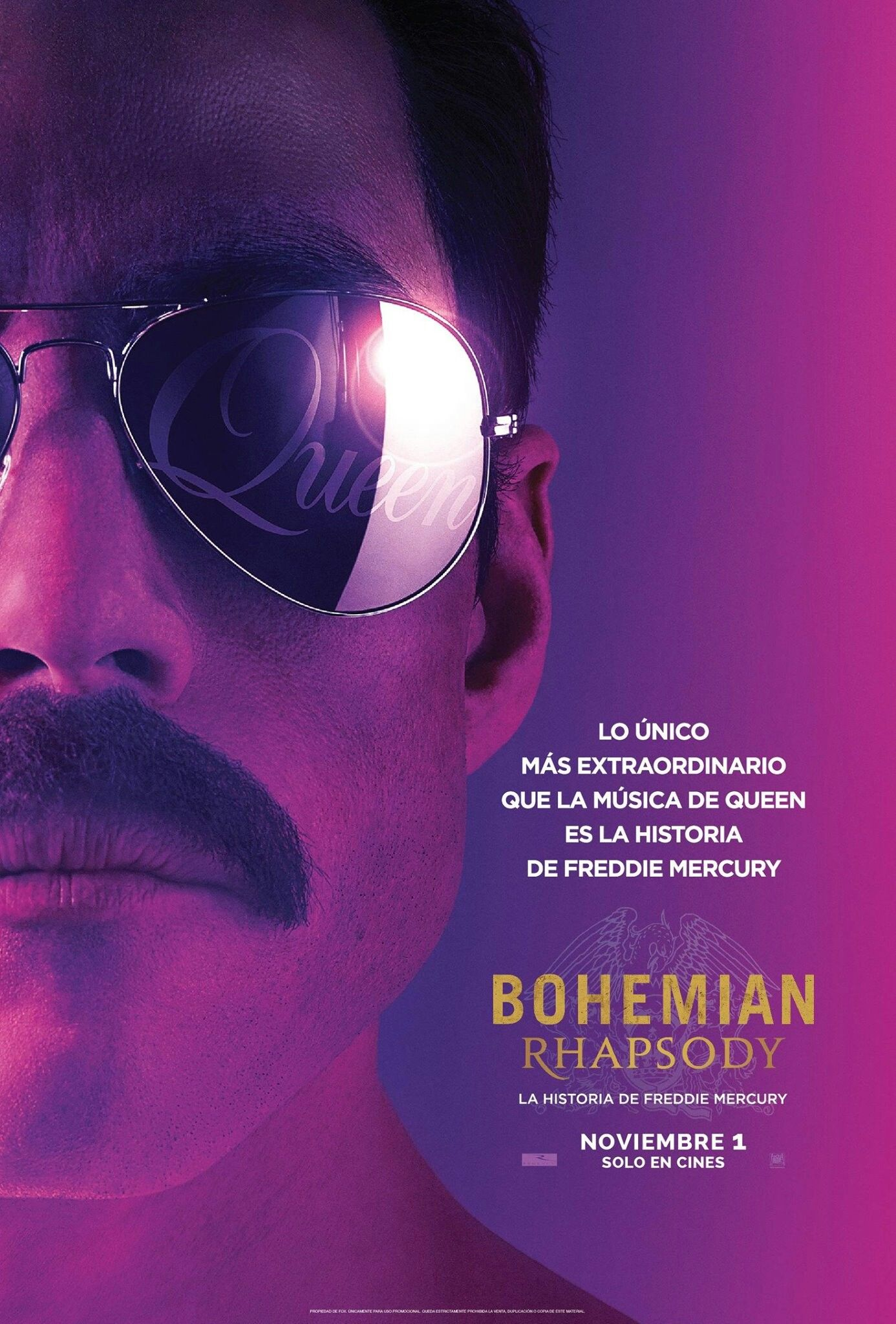 Bohemian Rhapsody Movie Poster Queen Bohemianrhapsody Fantastic