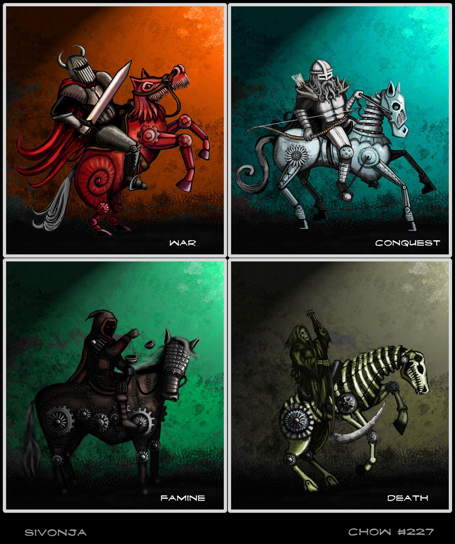 4 Horsemen of the Apocalypse   Kaiden in 2019   Horsemen of