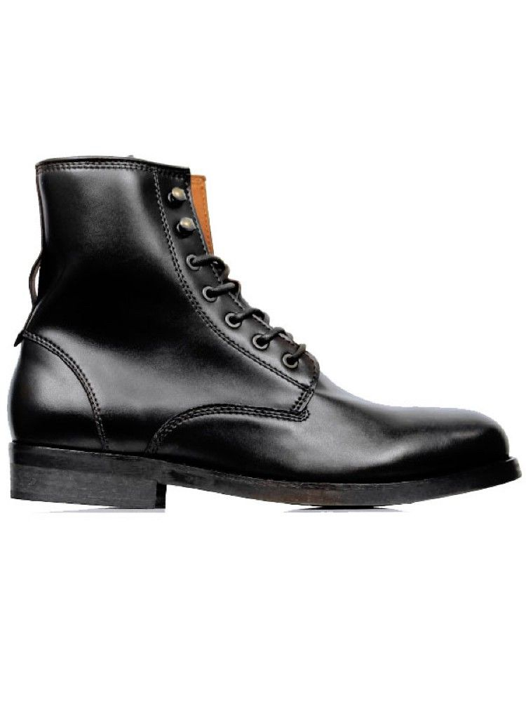 7cc47bd1a380 Vegan mens strider boots in black by Wills London