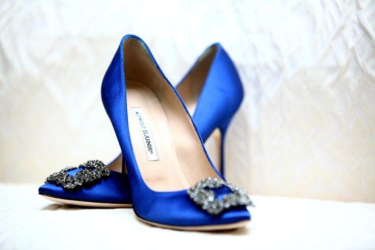 manolo blahnik blue shoes buy