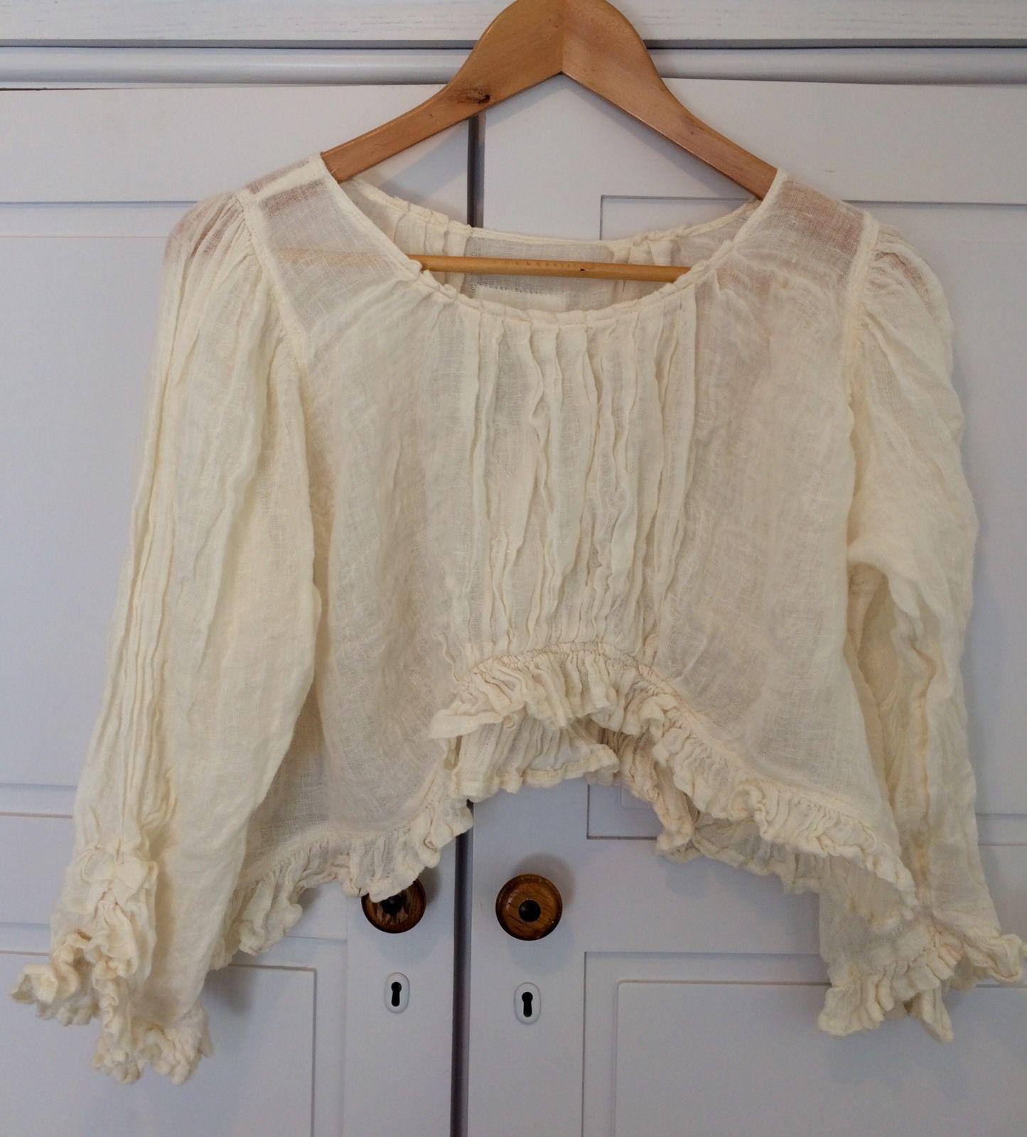 d91ef5af37e Magnolia Pearl Retired Gauze Cream Top | eBay | hypothetical | Cream ...