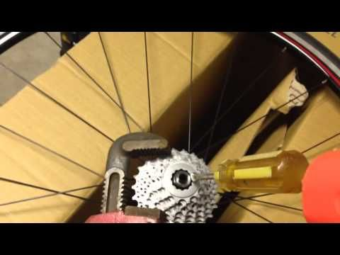 How To Remove Bike Cassette Without Special Tools Improved