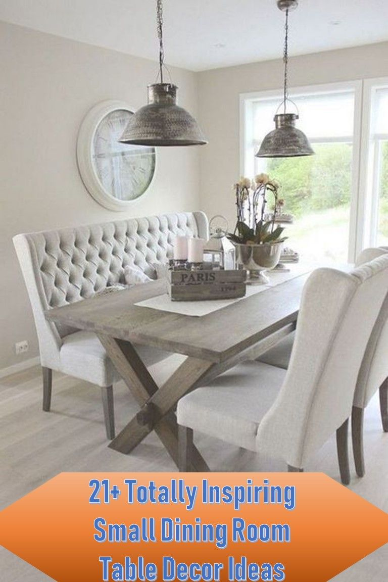 21+ Totally Inspiring Small Dining Room Table Decor Ideas#decor #dining #ideas #inspiring #room #small #table #totally