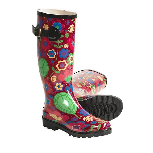 Fun Rain Boots | Women rubber rain boots | Shop women rubber rain ...