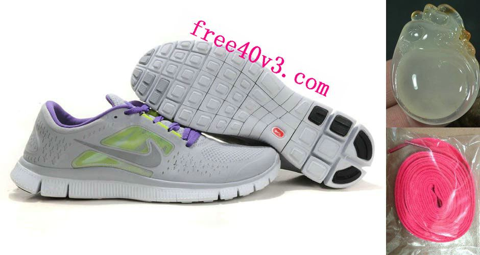 online store f777d 4d26e uk womens nike free run 3 wolf grey reflect silver pure platinum shoes  acca7 48b55