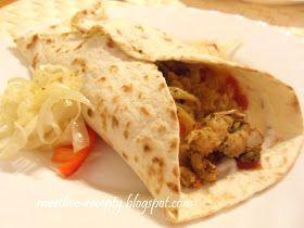 .. z lásky k vareniu ...: Kurací gyros v tortillovej placke