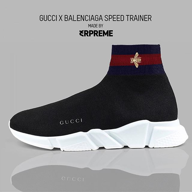 'Gucci X Balenciaga Speed Trainer' Cop = Drop =