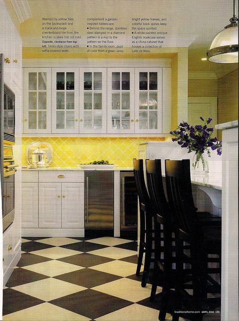 yellow tile backsplash  flickr  photo sharing  yellow