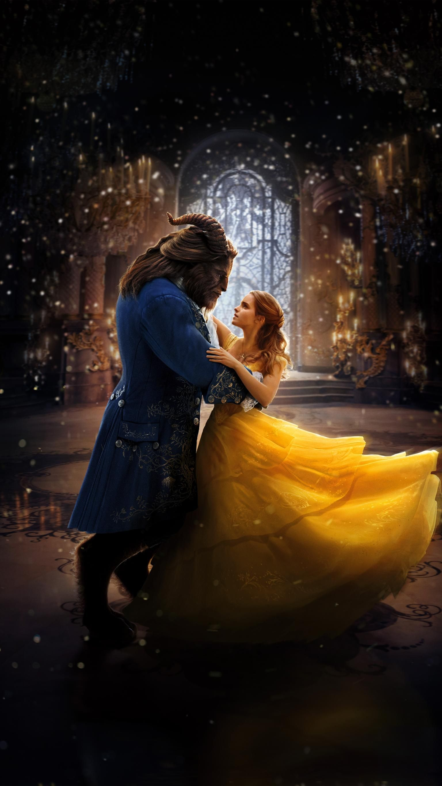 Beauty and the Beast (2017) Phone Wallpaper Beauty and