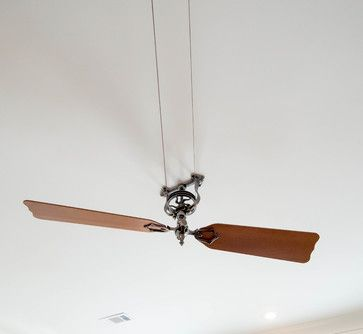 Belt Driven Ceiling Fan In Living Room Belt Driven Ceiling Fans Ceiling Fan Ceiling Fan Design
