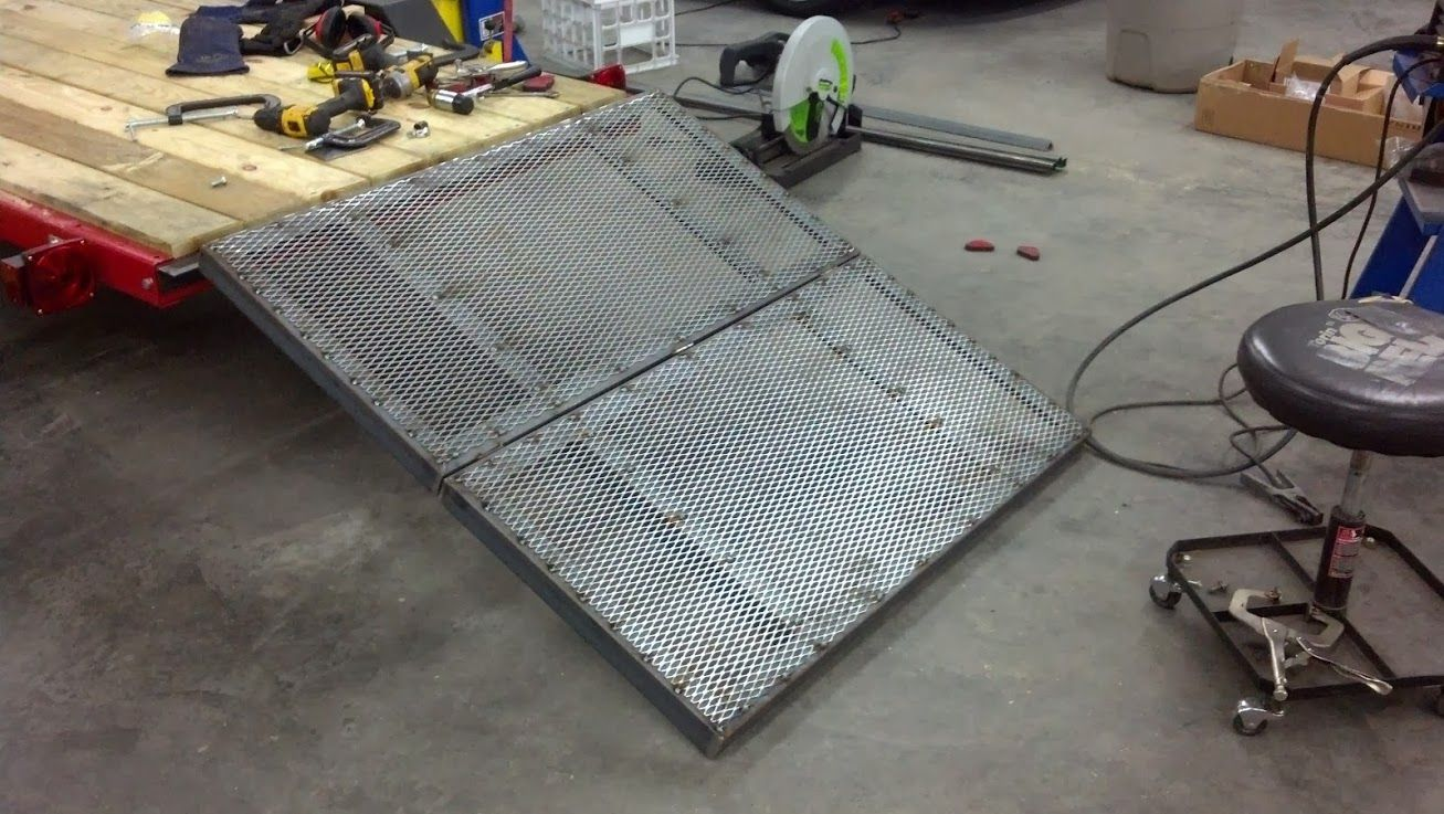 Best Way To Protect Trailer Wiring The Garage Journal Board Wire Harbor Freight Ramp Build Help Rh Pinterest Com