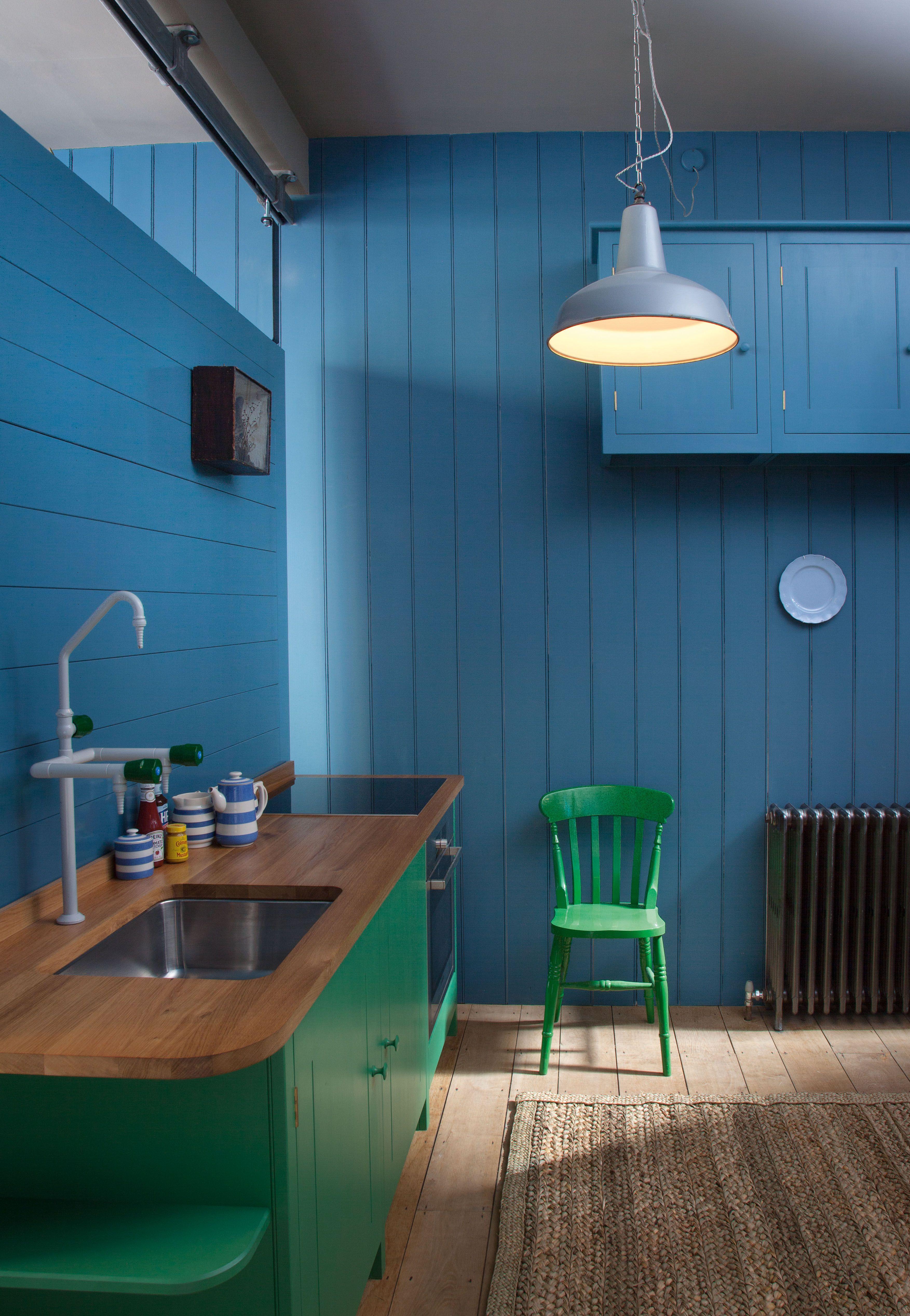 Green and Blue | Kjøkken | Pinterest | Grün und Blau