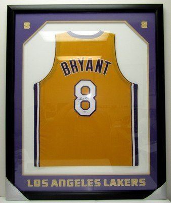 33d4713f42b Kobe Bryant Autographed LA Lakers FRAMED Jersey PSA DNA B11008 .  1199.00.  Featured is