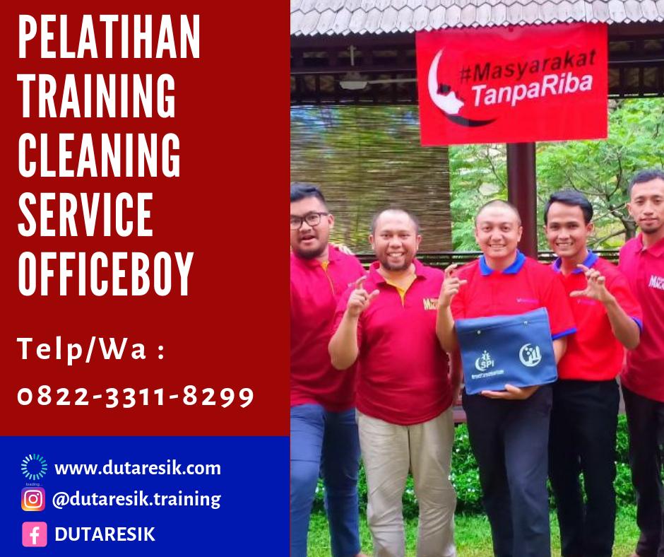 Sertifikasi training cleaning, training cleaning service