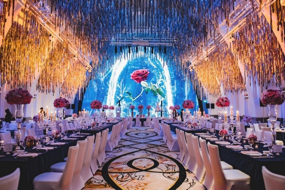 A Beauty And The Beast Inspired Wedding