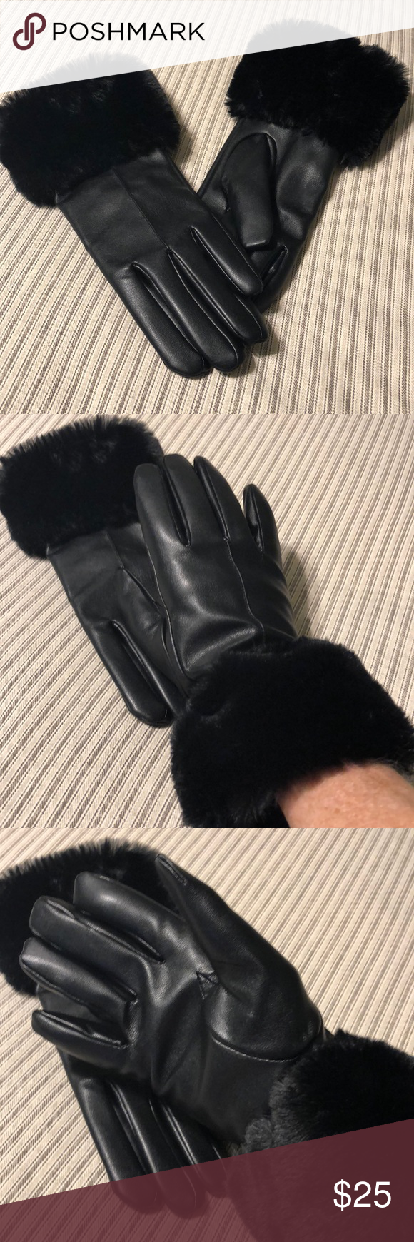03586f973e810 Keep you hands toasty and fashionable this winter. Size small. Summer and  Rose Accessories Gloves ...