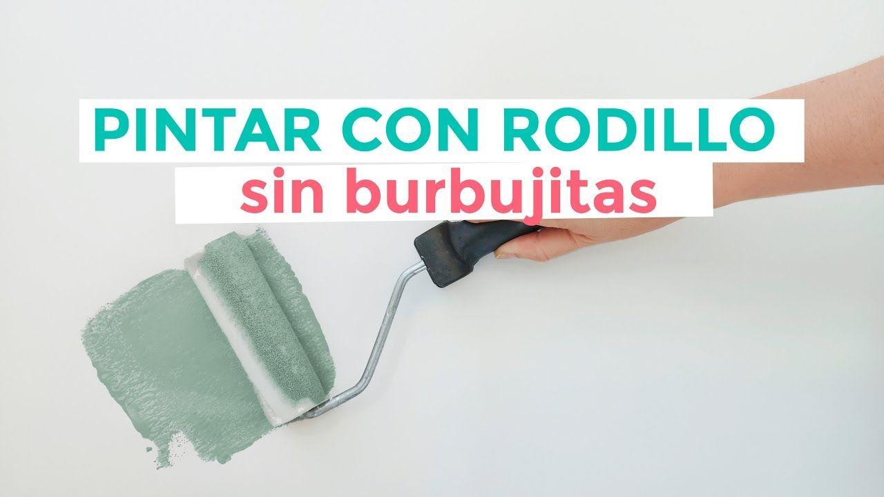 Cómo Pintar Con Rodillo Sin Dejar Marcas Youtube Como Pintar Rodillo Pintar