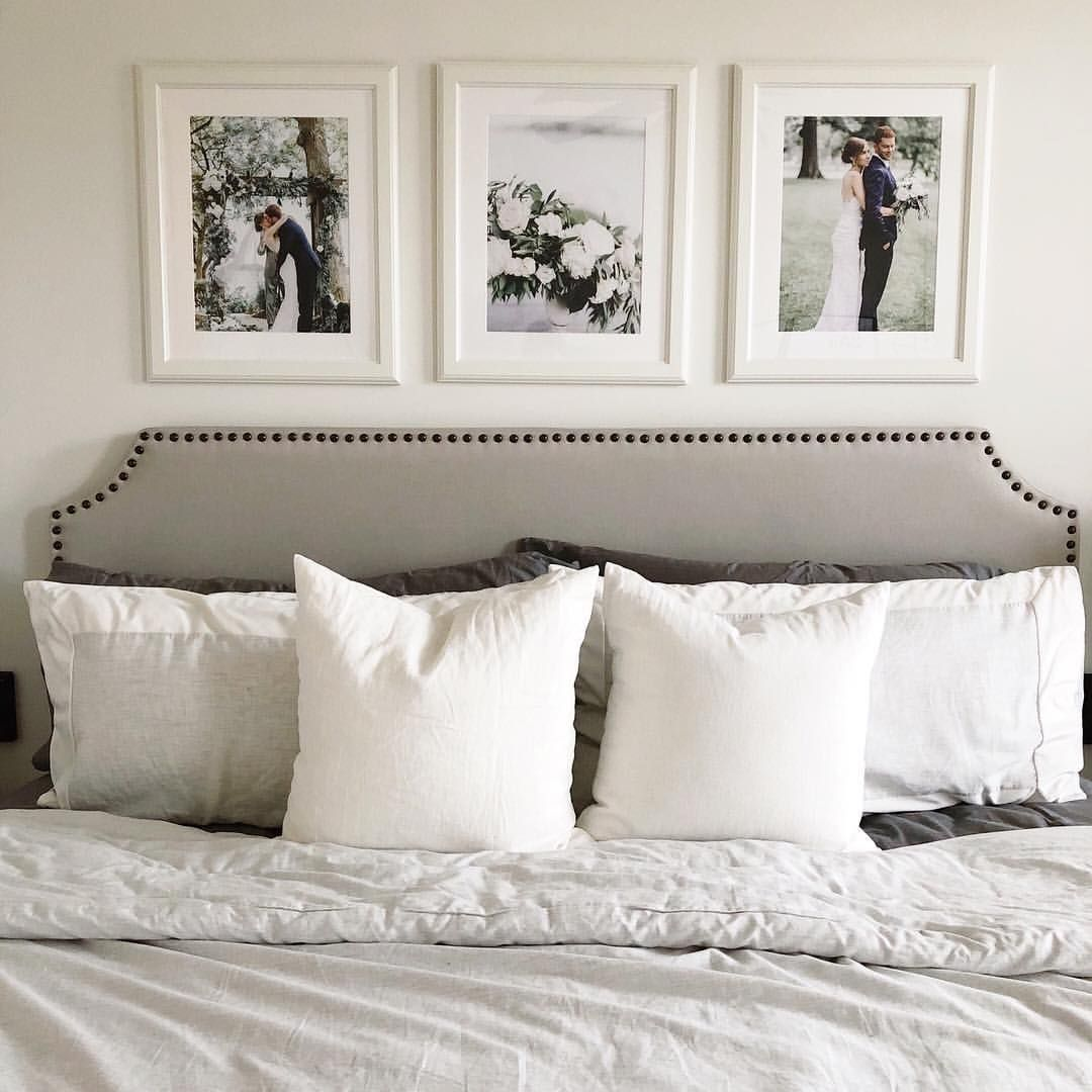Love This Photo Idea Above The Headboard From Laurenebown Bedroom Wall Decor Above Bed Master Bedroom Wall Decor Photo Walls Bedroom